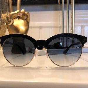 37126c98d Tom Ford Accessories | Angela 53mm Browline Sunglasses | Poshmark